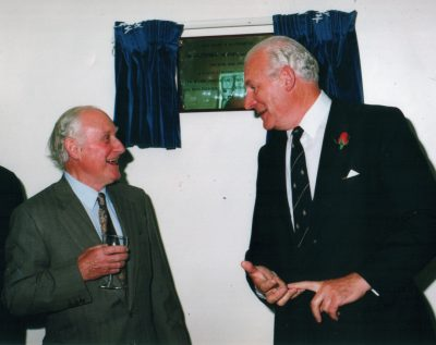 Sir Geoffrey Slaney and Phillip Somerville