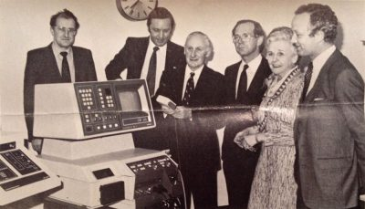 Presentation of scanner to the X-Ray Department